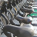 Bicycle Seats by Alfred Ng