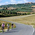 Bicycling In Tuscany by Richard Rutan