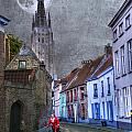 Bicycling Through Bruges by Juli Scalzi