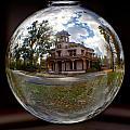 Bidwell Mansion Through A Glass Eye by Robert Woodward