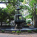 Bienville Fountain Mobile Alabama by Michael Thomas
