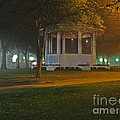 Bienville Square Grandstand In A Foggy Mist by Marian Bell