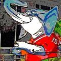 Big Al - Bama's Mascot by Marian Bell