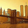 New York City - Big Apple Sunrise by Peter Potter