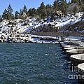 Big Bear Dam - California by S Mykel Photography