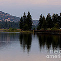 Big Bear Lake by Patricia Quandel