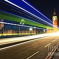 Big Ben And A Bus by Jeremy Hayden