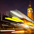 Big Ben And A Bus Trail by Travel and Destinations - By Mike Clegg