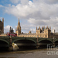 Big Ben And Houses Of Parliament by Clarence Holmes