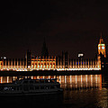 Big Ben And The Houses Of Parliment On The Thames by Doc Braham