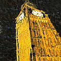 Big Ben At Night by Joel Tesch