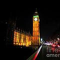 Big Ben At Night  by Doc Braham