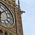 Big Ben's Clock Face by Nancy Ingersoll
