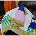 Big Blocks Patchwork Quilt by Barbara Griffin