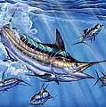 Big Blue And Tuna by Terry Fox