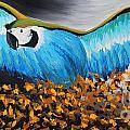 Big Blue Bird by Preethi Mathialagan