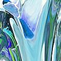 Big Blue Flower by Jamie Frier