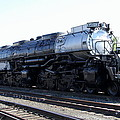 Big Boy - Union Pacific Railroad by Christiane Schulze Art And Photography