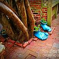 Big Foot Left His Filo Shoes Behind by Lorraine Heath