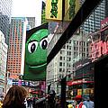 Big Green M And M by Lorraine Devon Wilke