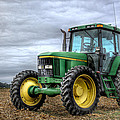 Big Green Tractor by Robert Jones