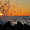 Big Island Hawaii Kona Sunset by Joseph Semary