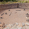 Big Kiva Bandelier National Monument by Fred Stearns