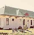 Big L Railroad Station by Marilyn Hunt