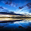 Big Lake After Sunset by Kyle Lavey