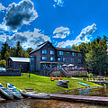 Big Moose Inn - Eagle Bay New York by David Patterson