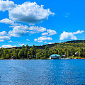 Big Moose Lake In The Adirondacks by David Patterson