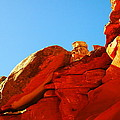 Big Orange Rock by Jeff Swan