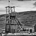 Big Pit Colliery Monochrome by Steve Purnell