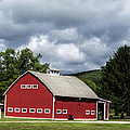 Big Red Barn by Anthony Thomas