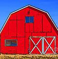 Big Red Barn by Janice Pariza