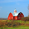 Big Red Barn by Jennifer Robin