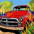 Big Red Chevy by Craig Nelson