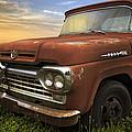Big Red Ford by Debra and Dave Vanderlaan
