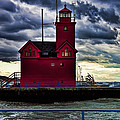 Big Red Holland Michigan by Evie Carrier