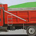 Big Red Truck by Paul Chapman