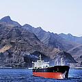 Big Ship Non Atlantic Ocean by Karol Kozlowski