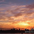 Big Sky Over Halifax Harbour by John Malone
