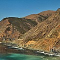 Big Sur And The Bridge by Adam Jewell