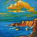 Big Sur At The West Coast Of California by Patricia Awapara