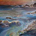 Big Sur In Sunset by Gideon Cohn