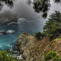 Big Sur Julia Pfeiffer State Park-1 Central California Coast Spring Early Afternoon by Michael Mazaika