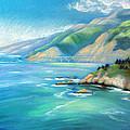 Big Sur Serenity by Karin  Leonard