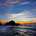 Big Sur Sunset by David Hare