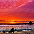 Big Sur Sunset Pfeiffer Beach by Jeff Black