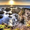 Big Sur Sunset by Shawn Everhart